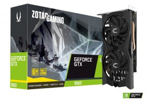 ZOTAC GEFORCE GTX 1660 6GB GDDR5 TWIN FAN