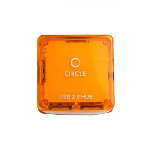 CIRCLE ROOTZ 4 PORT MOBILE USB HUB 4