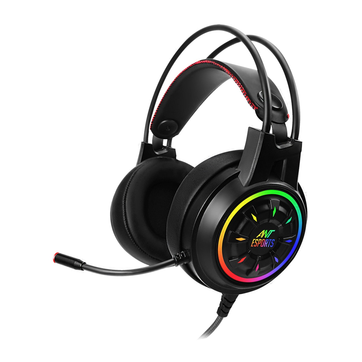 ANT ESPORTS H707 HD RGB LED GAMING HEADSET