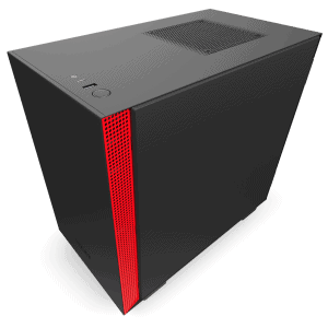 NZXT H210 BLACK RED