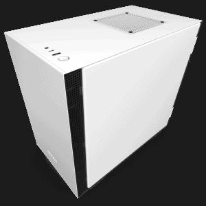 NZXT H210 MATTE WHITE