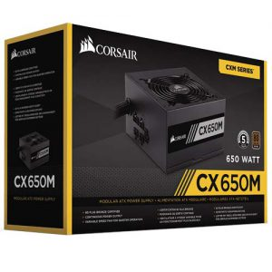 CORSAIR CX650M 80+BRONZE