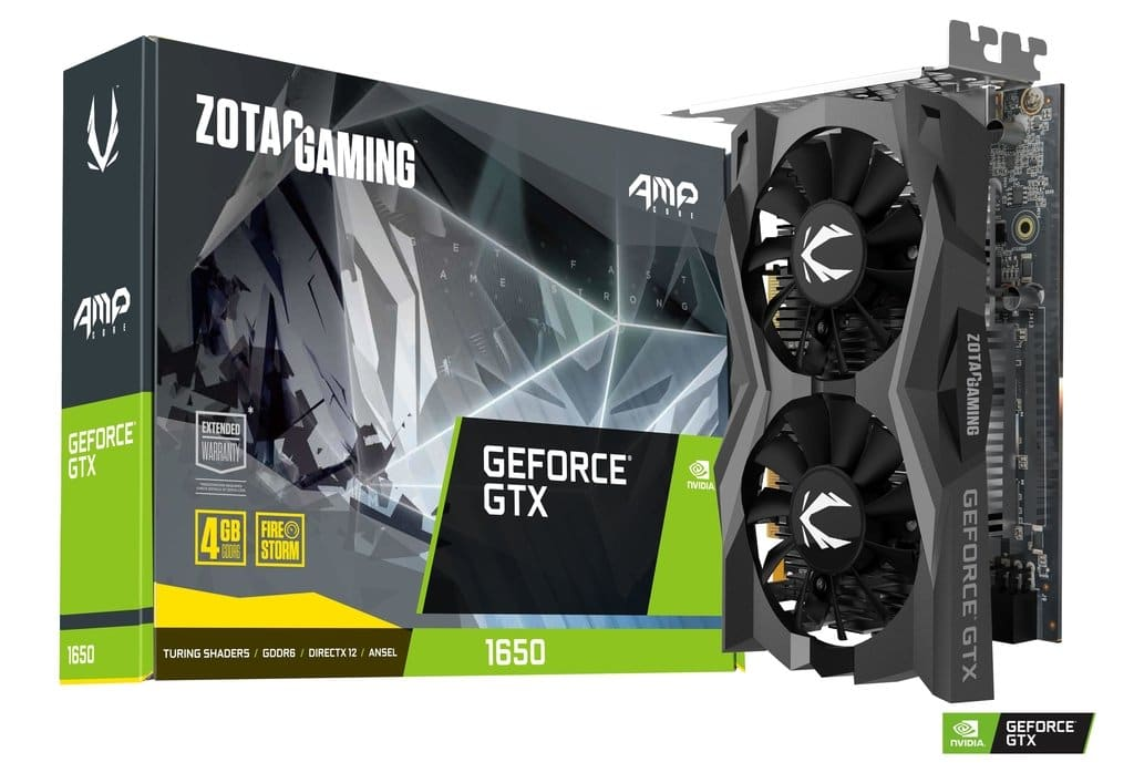 ZOTAC GEFORCE GTX 1650 AMP CORE 4GB GDDR6