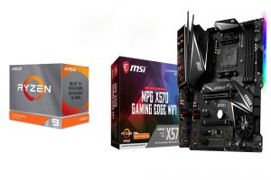 AMD RYZEN 9 3900XT + MSI X570 GAMING PRO CARBON WIFI