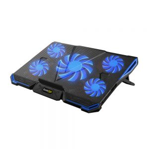 COSMIC BYTE ASTEROID LAPTOP COOLING PAD-BLUE