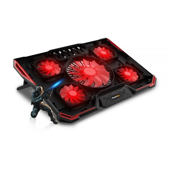 COSMIC BYTE ASTEROID LAPTOP COOLING PAD-RED-3