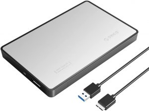 ORICO 2.5 HDD ENCLOSURE SILVER (2588US3)