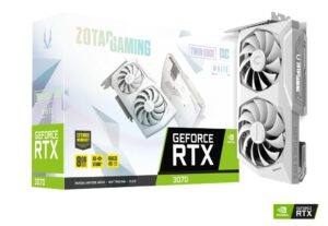 ZOTAC GAMING GEFORCE RTX 3070 TWIN EDGE OC WHITE 8GB GDDR6