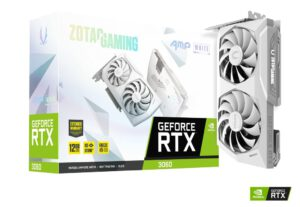 ZOTAC GAMING GEFORCE RTX 3060 AMP WHITE 12GB GDDR6