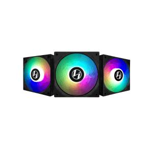 LIAN LI ST120 RGB BLACK (TRIPLE PACK)